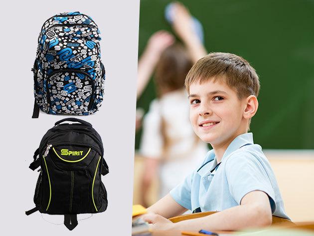 SPIRIT hátizsákok változatos mintákkal, strapabíró anyagból, sportos dizájnnal!