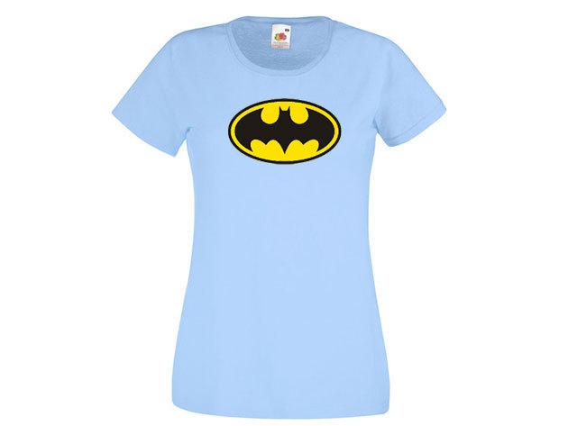 Batman póló - női környakú