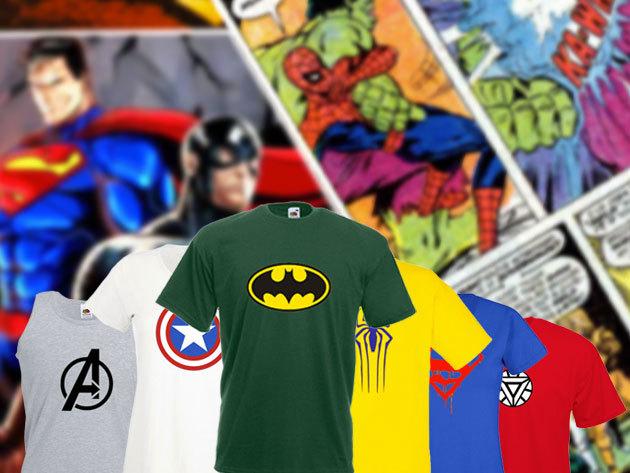 Sportos pólók szuperhősös mintákkal <br />a hétköznapok hőseinek