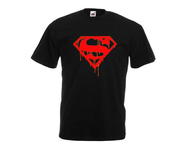 Superman póló - férfi környakú