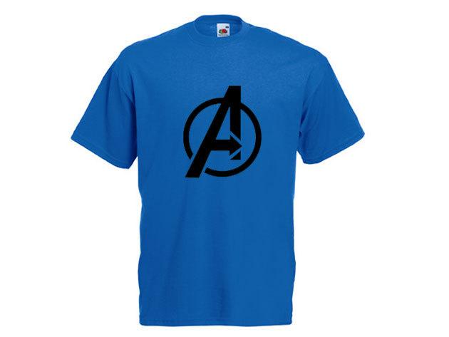 Avengers póló - férfi környakú