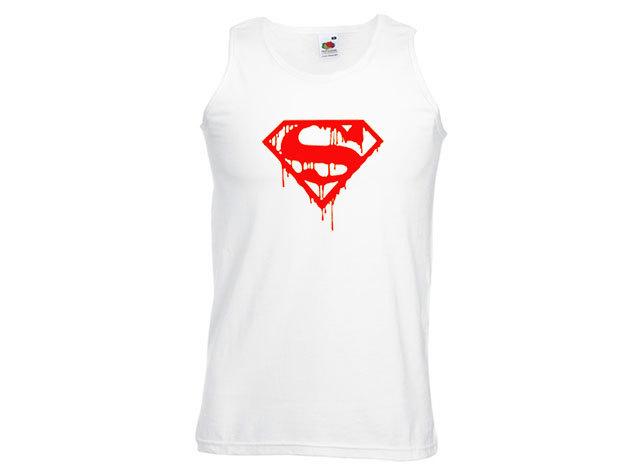 Superman póló - férfi ujjatlan