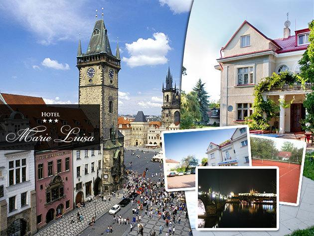 Hotel Marie Luisa***, Prága - 3 nap/2 éj vagy 4 nap/3 éj szállás félpanziós ellátással /2 fő