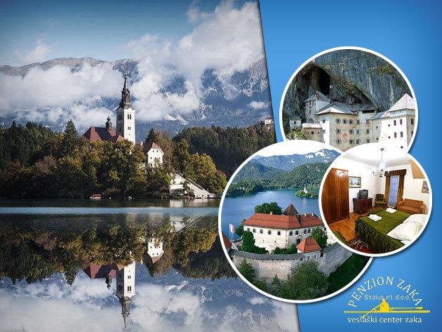 Szlovénia gyöngyszeme: Bled! - Penzion Zaka - 3 nap/2 éj vagy 4 nap/3 éj szállás 2 fő részére, reggelivel