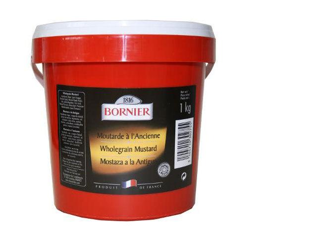 Bornier Dijoni magos mustár - 1kg