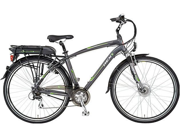 """REX ETK500 28"""" Férfi Túra Elektromos kerékpár - 50cm Acera 21x Li-Poly 36V-10A"""