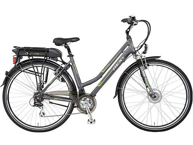 """REX ETK500 28"""" Női Túra Elektromos kerékpár - 50cm 21xAcera Trio Li-Poly 36V-10A"""