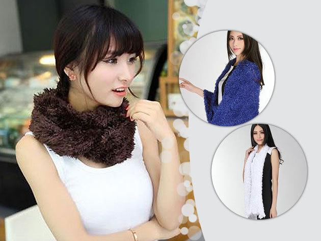 Magic scarf - többféleképpen viselhető mágikus sál extra puha anyagból, 4 divatos színben