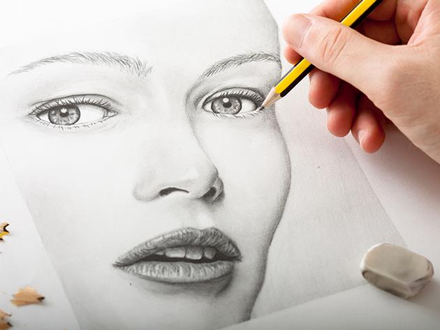 Jobb Agyféltekés Rajztanfolyam DVD-n! Tanulj meg művészien rajzolni néhány nap alatt!