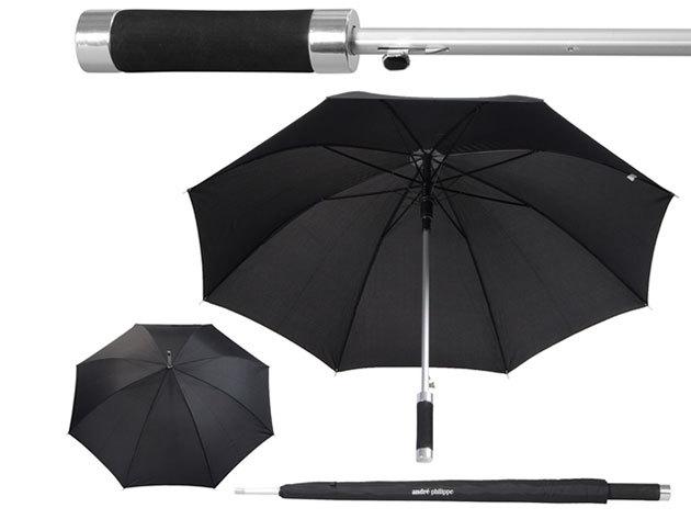 8 paneles automata esernyő puha fogóval