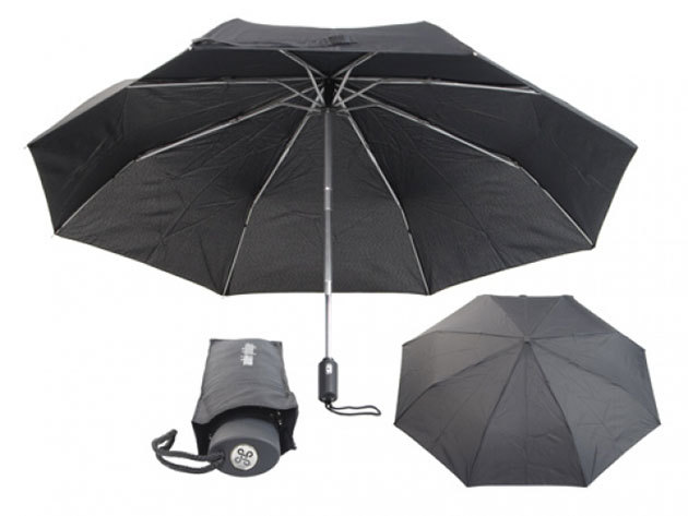 Összecsukható, mindkét irányba automata esernyő