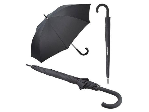 Szélbiztos automata esernyő gumírozott fogóval