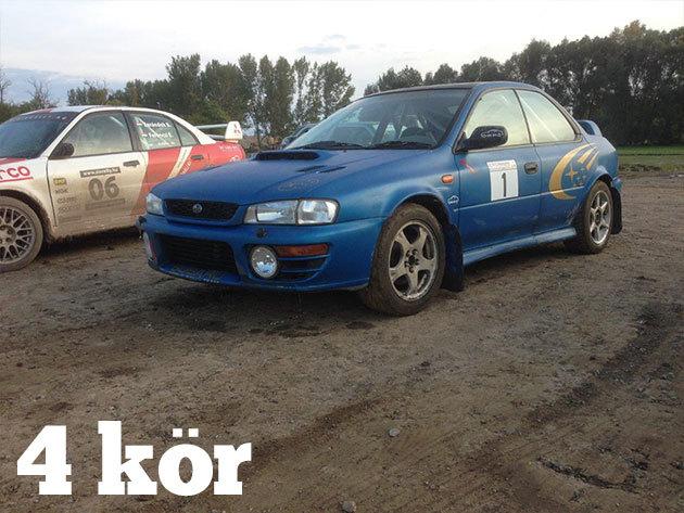 4 kör Subaru Impreza WRX vezetés + 1 kör BMW Drift Taxi