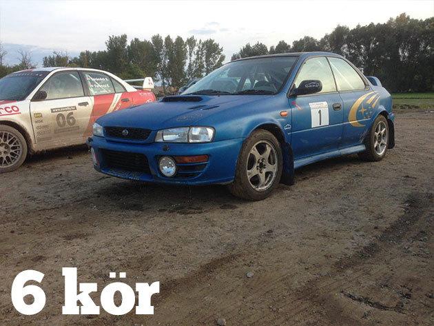 6 kör Subaru Impreza WRX + 3 kör BMW vezetés + 3 kör BMW Drift Taxi