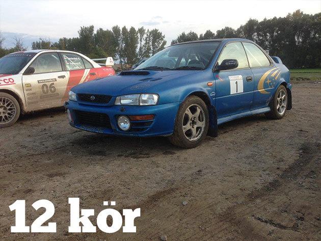 12 kör Subaru Impreza WRX + 5 kör BMW vezetés + 3 kör BMW Drift Taxi