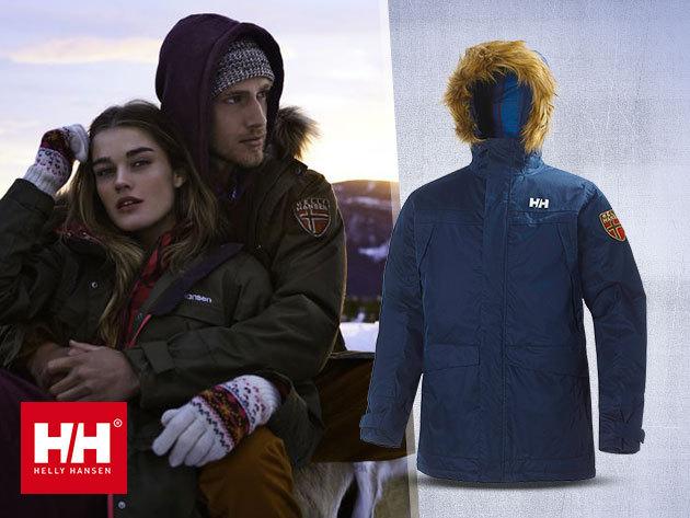 Helly Hansen férfi utcai kabát - vízálló, szélálló és lélegző kialakítással