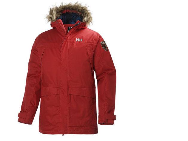 Helly Hansen COASTLINE PARKA ALERT RED XL (51622_222-XL)