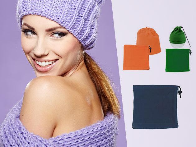 Sapkává alakítható polár nyakmelegítő - puha, meleg, praktikus kiegészítő 7 színben