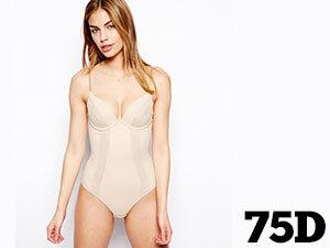 75D Testszín - WONDERBRA WB0000J2-007-75D SEXY SHAPING BODY