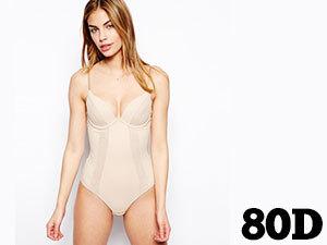 80D Testszín - WONDERBRA WB0000J2-007-80D SEXY SHAPING BODY