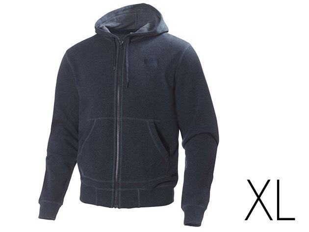 """Helly Hansen FZ Hoodie (NAVY MELANGE) """"XL"""" (51717_597-XL)"""