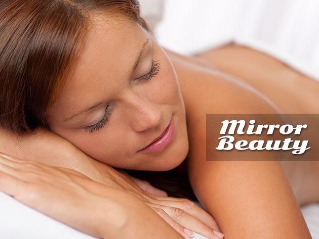 5 alkalmas (5x40 perc) Jade-köves masszázságy bérlet belvárosi MIRROR Beauty Szépségszalonban