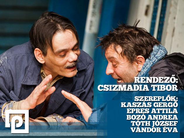 Székely Csaba: BÁNYAVIRÁG - tragikomédia november 4-én és 14-én a Pinceszínházban!