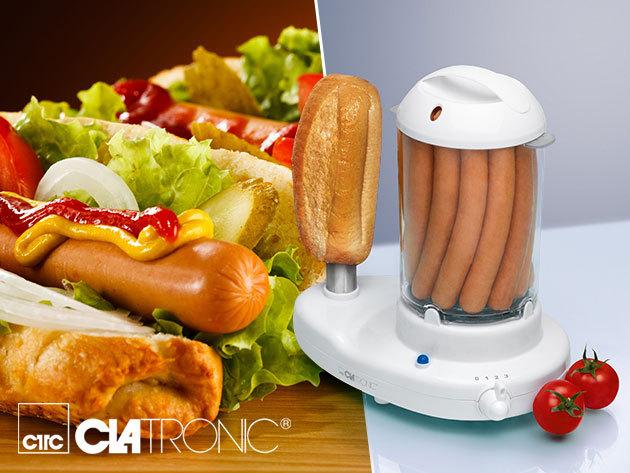Clatronic Hot-Dog és tojásfőző készülék - a vendégeid odalesznek érte!
