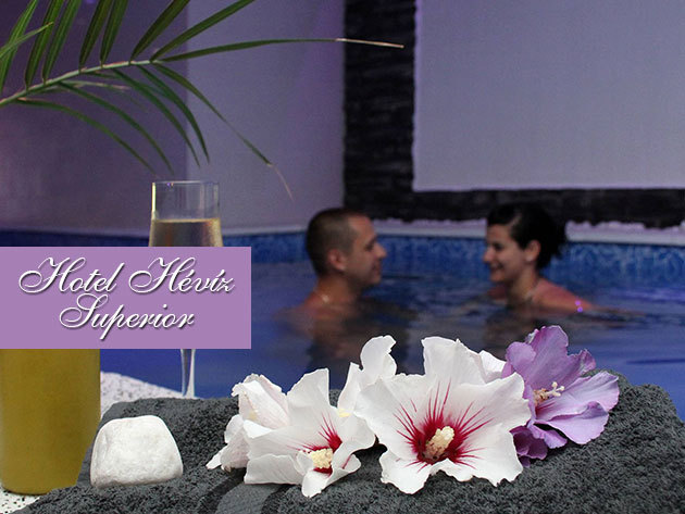 All Inclusive napok a Hotel Hévíz Superiorban - 3 nap 2 éjszaka 2 fő részére, 8000 Ft értékű wellness kuponnal