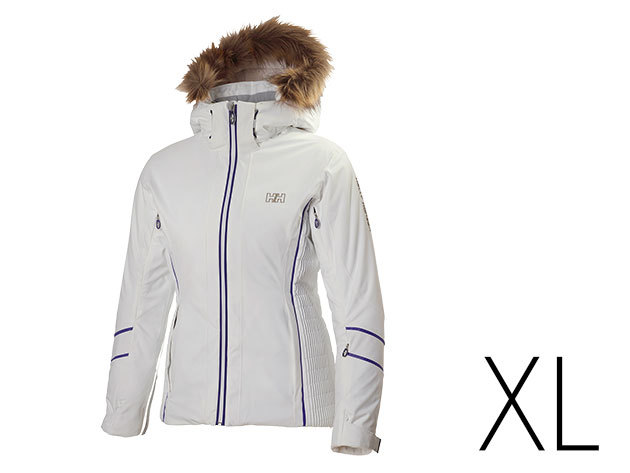 Helly Hansen W PANORAMA JACKET WHITE XL (62165_001-XL)