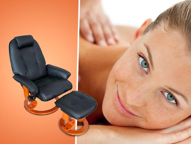 Body Care többfunkciós masszázsfotel lábtartóval, díjtalan szállítással - kényeztető luxus' az otthonodban