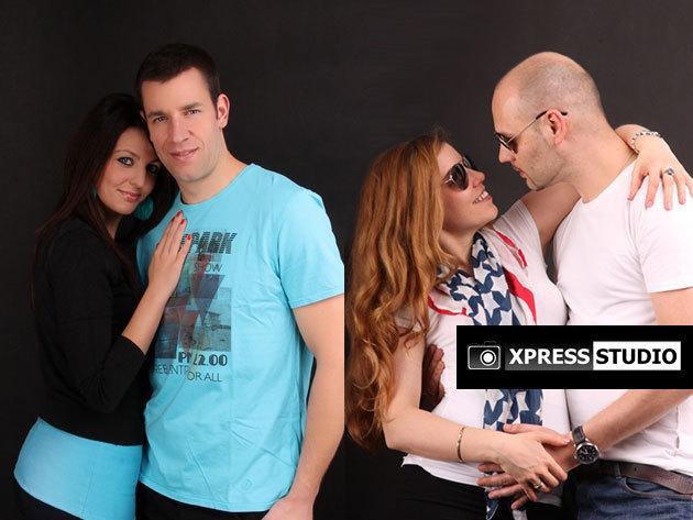 Xpress Studio: 1 óra fotózás műteremben - egyéni, páros, családi, baba-mama