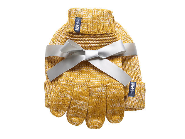 Helly Hansen MARSTRAND KNIT SET OCRA SAND (67980_376)
