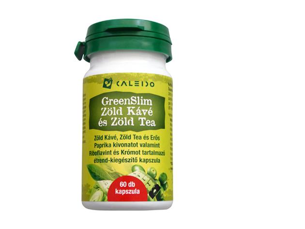 Caleido GreenSlim Zöld Kávé és Zöld Tea kapszula 60 db