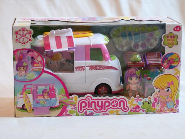 PINYPON busz kiegészítőkkel