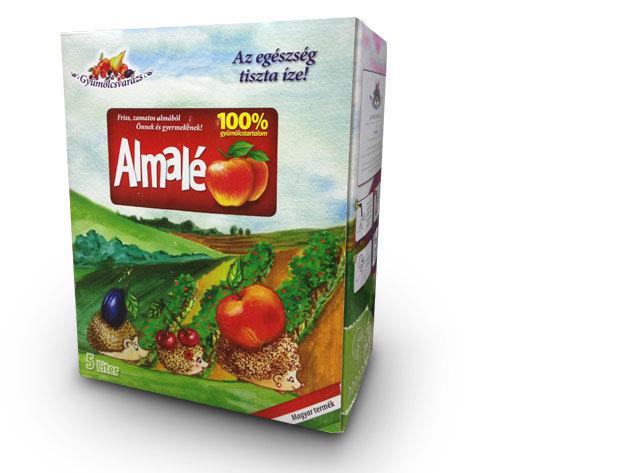 100% gyümölcslé - ALMA Dobozzal