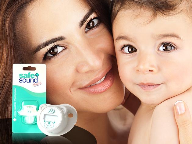 Digitális cumis lázmérő - kíméletes módszer a babák testhőmérsékletének ellenőrzésére