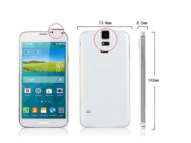 """MP I9600 5""""-os okostelefon (Fehér)"""