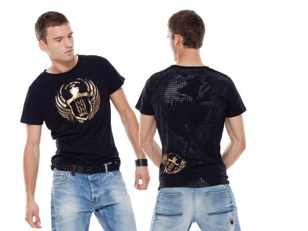 Fekete Collection 69® férfi póló - Vintage69 (C690017)