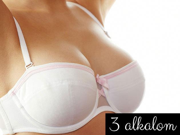 3 alkalmas Beauty Breast Care kezelés - mellnagyobbítás és mellemelés