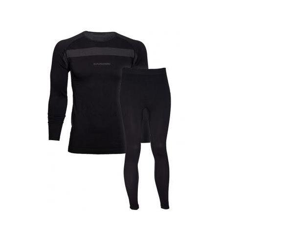 Fundango unisex technikai alsó-felső aláöltözet fekete S/M (1EH903_890-S/M)