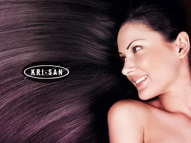 Brasil Cacau - tartós keratinos hajegyenesítés Senior Stylist fodrásztól, a belvárosi KRI-SAN szalonban