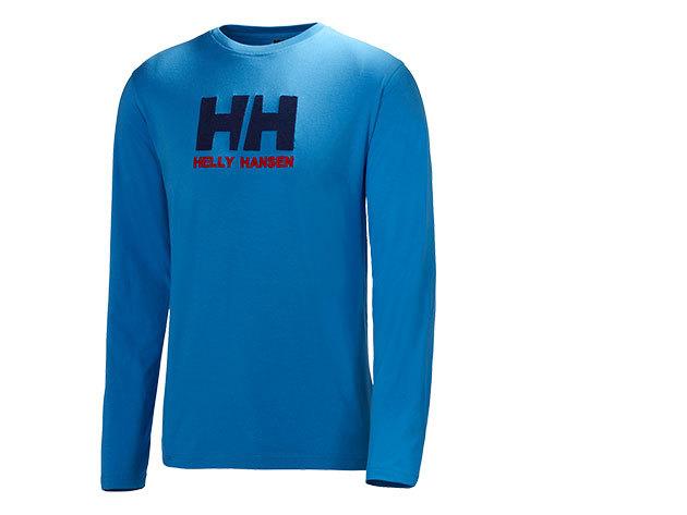 Helly Hansen HH LOGO LS TEE RACER BLUE XL (50588_535-XL) - AZONNAL ÁTVEHETŐ