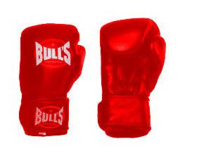 BULL'S boxkesztyű - PIROS
