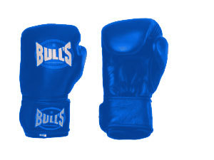BULL'S boxkesztyű - KÉK