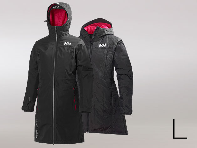 Helly Hansen W H2FLOW RIGGING COAT EBONY L (51608_980-L)