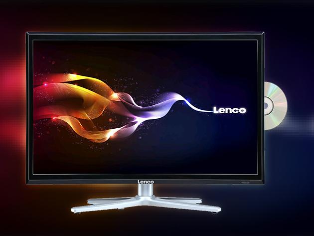 """Lenco led-1955 19"""" FULL HD televízió beépített DVD lejátszóval"""