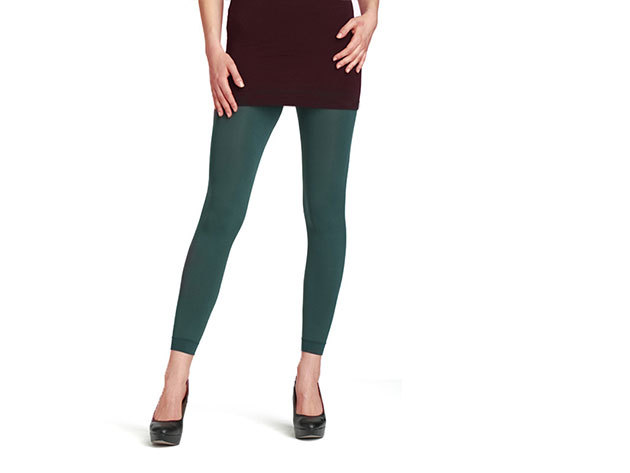 Bellinda leggings 120 DEN - ZÖLD (L) BE240120-656