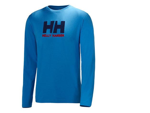 Helly Hansen HH LOGO LS TEE RACER BLUE XS (50588_535-XS) - AZONNAL ÁTVEHETŐ