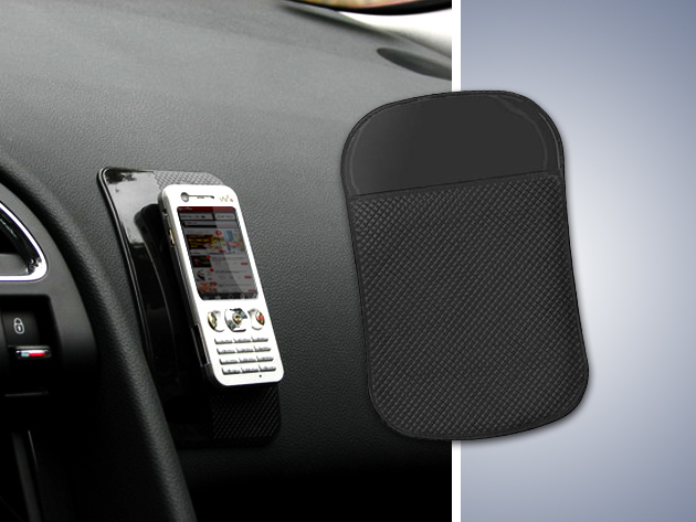 A Nano-Pad jól tapad a műszerfalra is - megoldódik autódban a rend kérdése!